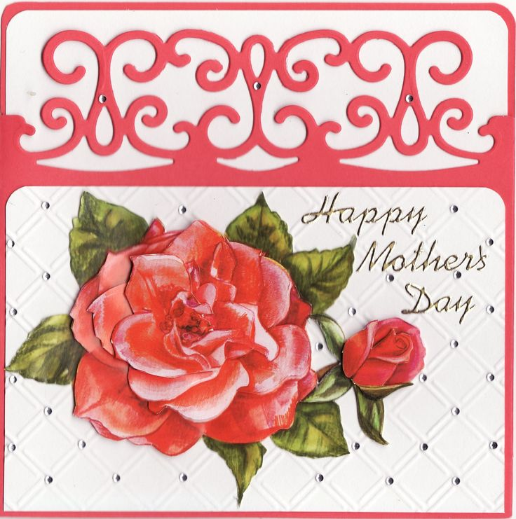 3D 'Happy Mother's Day' Card