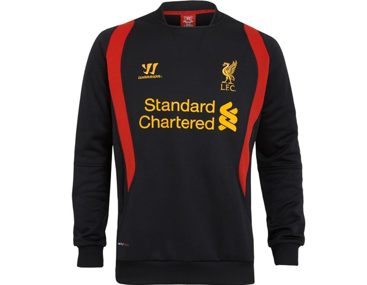 Liverpool FC Training Sweat - Black