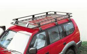 ARB 4x4 Accessories ARB Steel Roof Rack Basket with Mesh Floor - 3813020M 3813020M Roof Rack: ARB… #AutoParts #CarParts #Cars #Automobiles