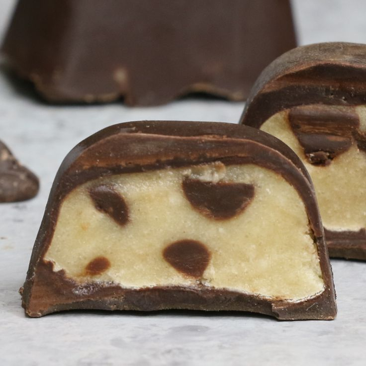 Chocolate Covered Cookie Dough – An easy and delicious snack or treats that ev...
