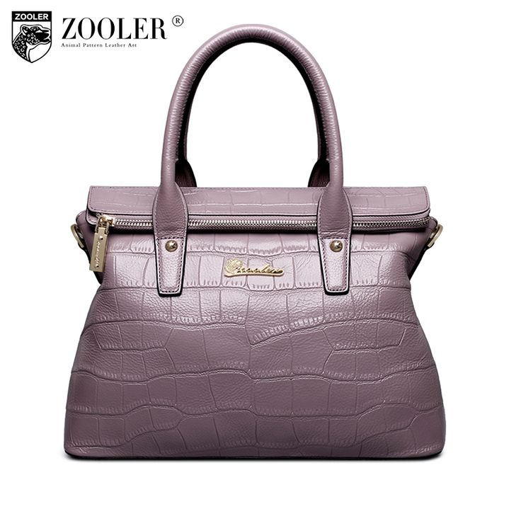 ZOOLER 2017 woman leather bag luxury elegant genuine leather handbags women shoulder messenger bags OL lady beloved  bolsos#1050