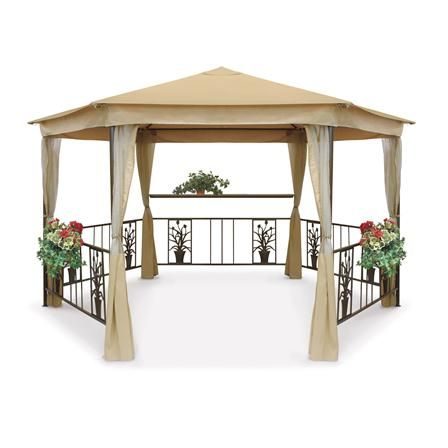 17 best images about gazebos with netting on pinterest better homes and gardens fun things Better homes and gardens gazebo