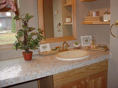 洗面台をタイルを使っておしゃれに造ってみませんか : ナチュラルアスカ的社長ブログ