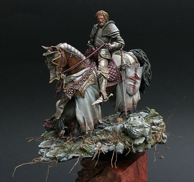 Saint george modelismo pinterest figurin obras de for Pinterest obras de arte
