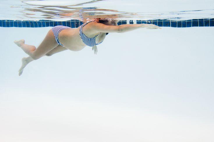 Rückenschmerzen in der Schwangerschaft: Schwimmen