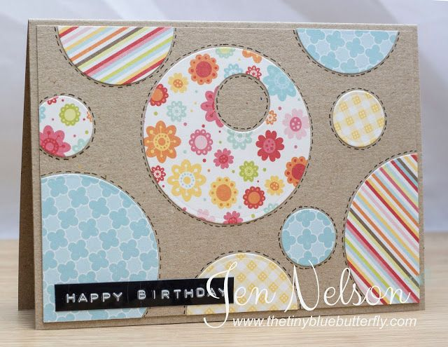 The Tiny Blue Butterfly: Some Exciting News.... And a Little Card!