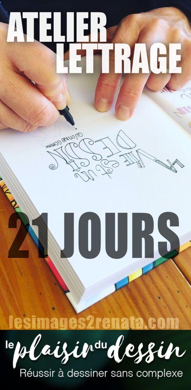 21jours d'Atelier Lettrage du 1er au 21 septembre 2017-Inscriptions à partir du 18 août ;-)