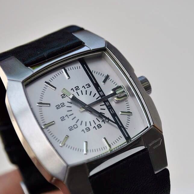 Handmade leather strap for diesel watch-  christiastraps@gmail.com. Instagram: christiastraps