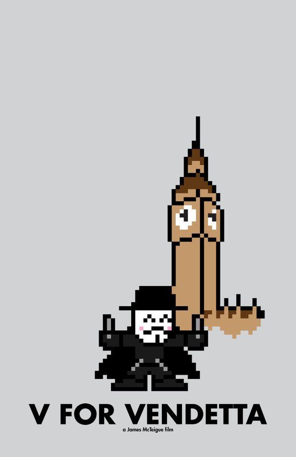 V for Vendetta by Eric Palmer