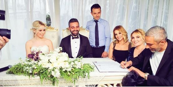 Esra Erol nikah şahidi oldu! Magazin haberleri