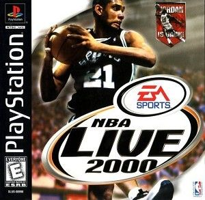 Complete NBA Live 2000 - PS1 Game