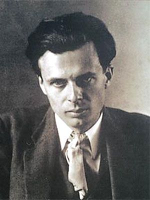 """Aldous Huxley on why he doesn't read reviews of his own work: """"They've never had any effect on me, for the simple reason that I've never read them. I've never made a point of writing for any particular person or audience; I've simply tried to do the best job I could and let it go at that. The critics don't interest me because they're concerned with what's past and done, while I'm concerned with what comes next."""""""