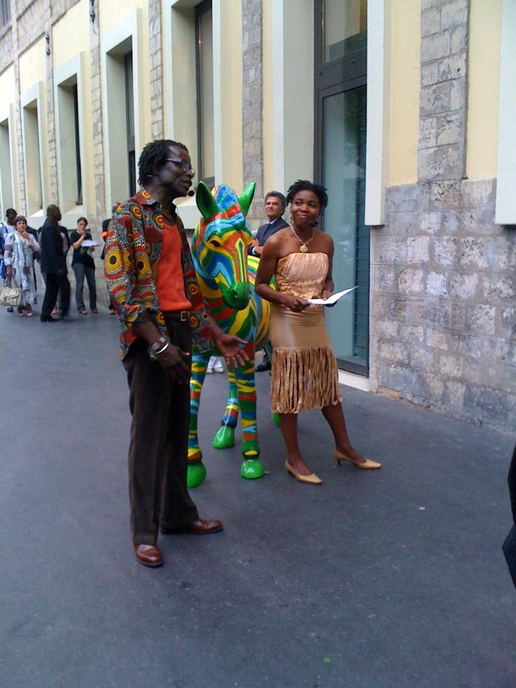 Inauguration TV5MONDE + Afrique