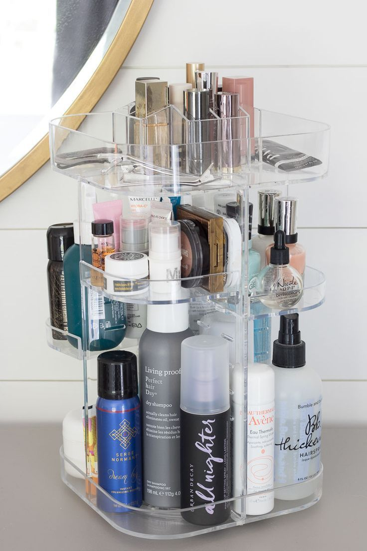 The Best Way To Organize Beauty Products Driven By Decor Bathroom Storage Solutions Makeup Storage Bathroom Storage
