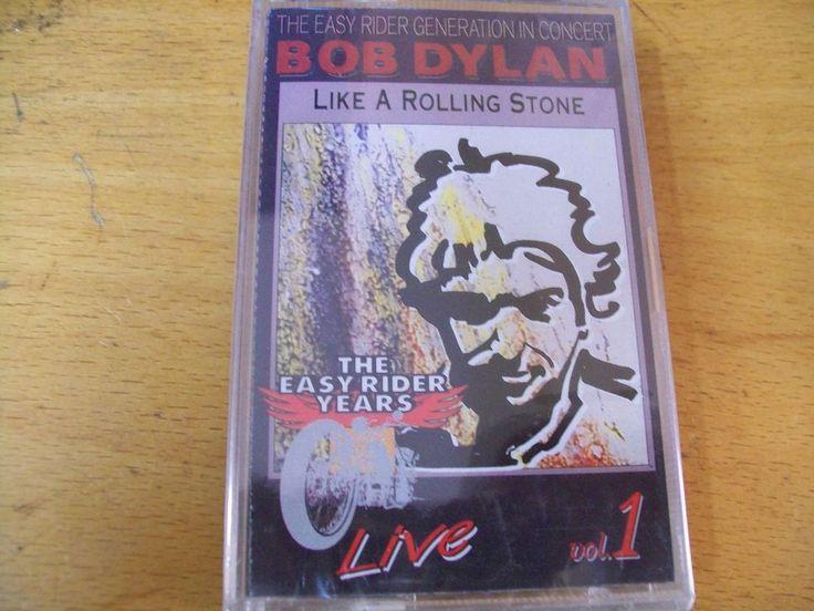 BOB DYLAN LIKE A ROLLING STONES LIVE VOL 1 MC  SIGILLATA RARA BOLLO SIAE A SECCO