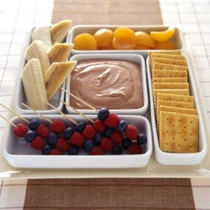 いろいろフルーツのチョコレートディップの作り方|手作りチョコレシピ|株式会社 明治