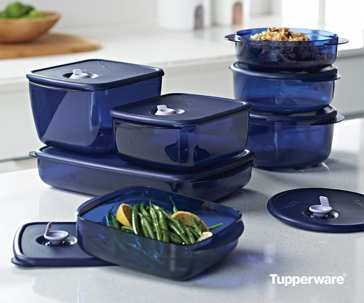 Vent 'N Serve® Containers. The versatile containers are fridge, freezer, and microwave safe so they fit in with all your dinner plans. #mealprep