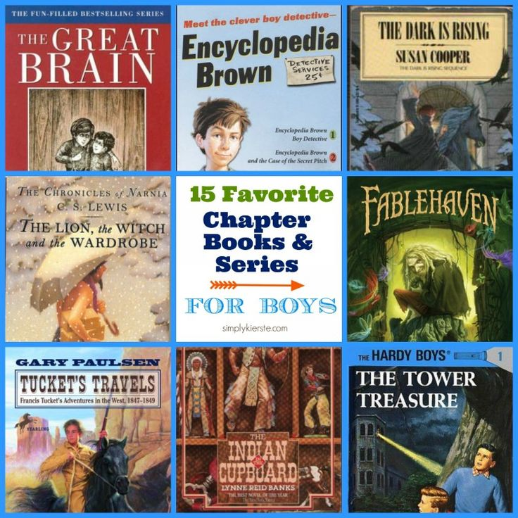 15 Favorite Chapter Books & Series For Boys {ages 8-12} - Simply Kierste