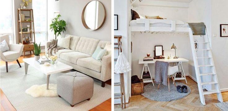 17 beste idee n over 1 zimmer wohnung op pinterest ikea slaapkamer schlafzimmer einrichten en. Black Bedroom Furniture Sets. Home Design Ideas