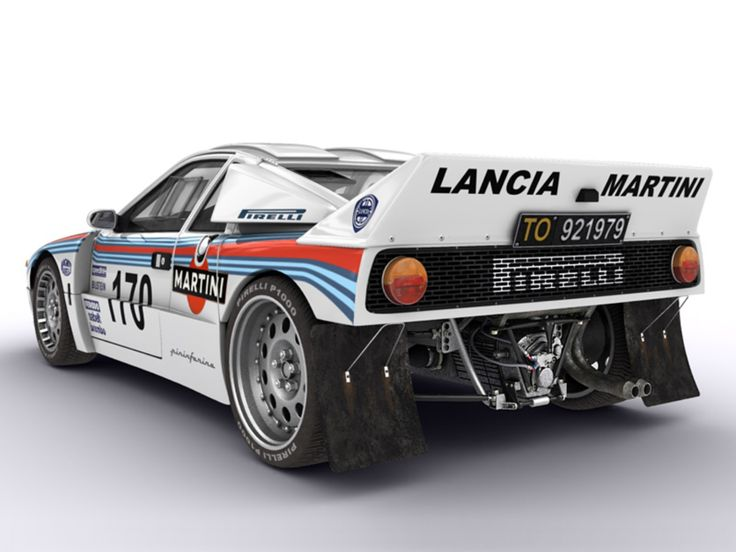 Lancia 037 Rally Car 1983