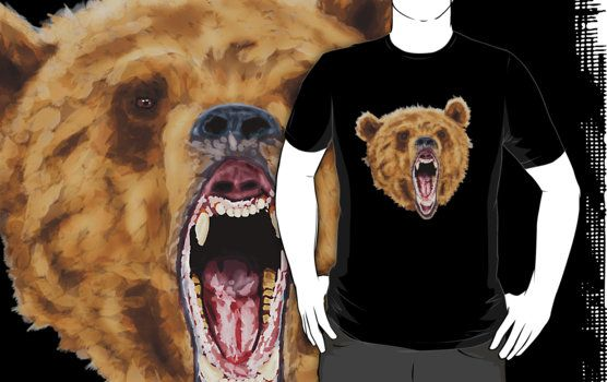 Grizzly Bear (Shirt) by Jayden McLeod