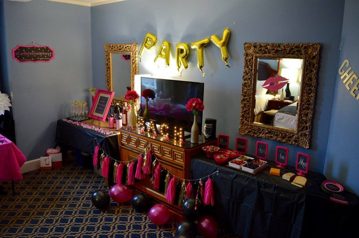 1000 ideas about 19th birthday on pinterest 19 birthday for Hotel room decor for birthday