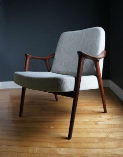 str8mcm: Rastad & Relling Lounge Chairs