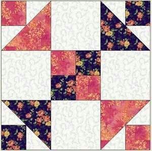 17 Best Shaded 4 Patch Images On Pinterest Patch Quilt