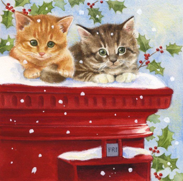 Lisa Alderson - Kittens postbox.jpg