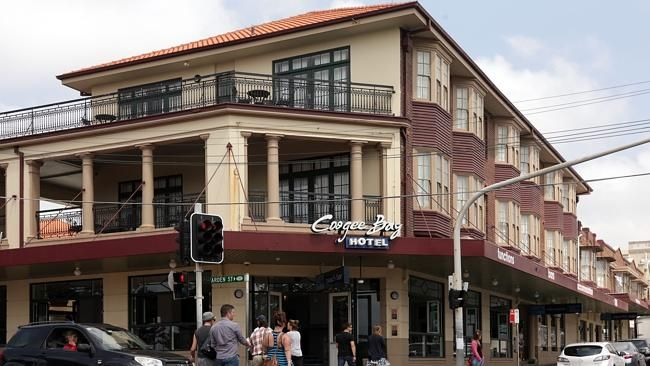 SThe Coogee Bay Hotel in Coogee Bay Road Coogee.