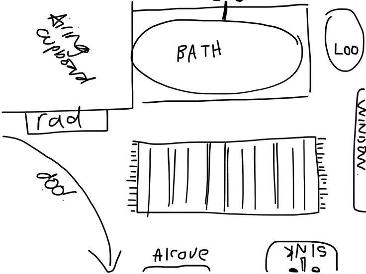 Bathroom layout1