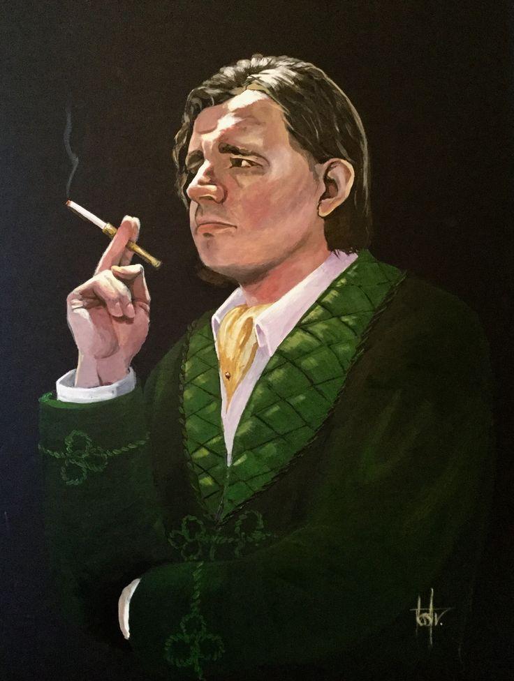 Theatre prop portrait for the Studio Theatre Group's production of 'Blithe Spirit' by Noel Coward