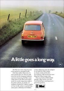 Publicidad vintage de Mini Naranja