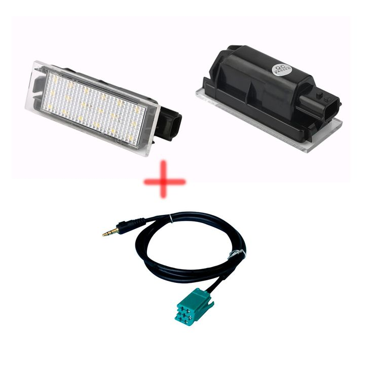 $14.90 (Buy here: https://alitems.com/g/1e8d114494ebda23ff8b16525dc3e8/?i=5&ulp=https%3A%2F%2Fwww.aliexpress.com%2Fitem%2FLED-License-Number-Plate-Lamp-For-Renault-Megane-2-Clio-Laguna-2-Megane-3-Twingo-Master%2F32720093343.html ) LED License  Number Plate Lamp For Renault Megane 2 Clio Laguna 2 Megane 3 Twingo Master +3.5mm AUX CD Stereo Audio Wire for just $14.90