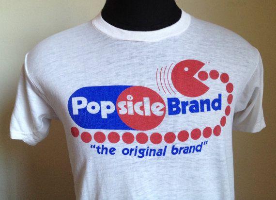 80s Vintage Pacman Popsicle Brand video games by StranStarsBest