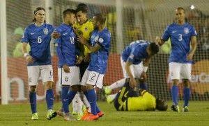 El Canal   de España realizó un marcaje personal a Neymar durante el juego de Brasil contra Colombia, donde se pudo ver que la marca personal de Camilo Zúñiga lo sacó de quicio y provocó la agresión del jugador del Barcelona, que fue expulsado. Hoy la Conmebol fijó en cuatro los partidos de suspensión sobre […]