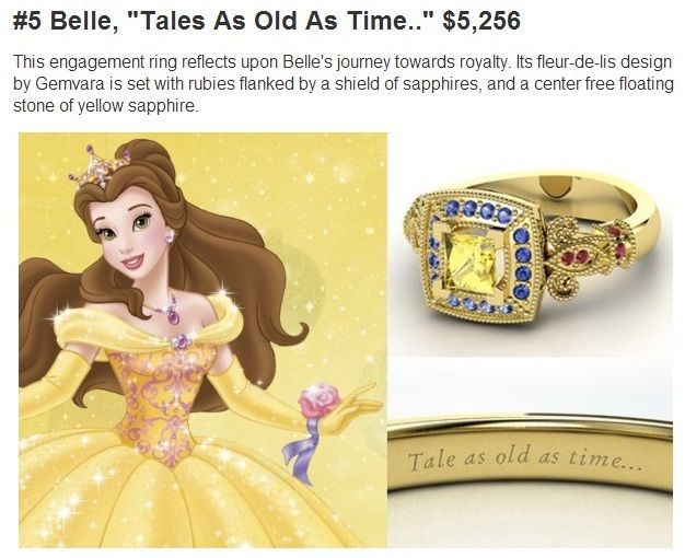 Disney Engagement Rings - Which one is right for you? - Doctor Disney