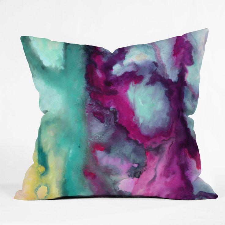 Jacqueline Maldonado Armor Throw Pillow | DENY Designs Home Accessories