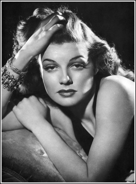 Rita Hayworth.... My Dad loved & admired her so much, when I was born he named me after her character  in the 1946 movie   ....  Gilda.