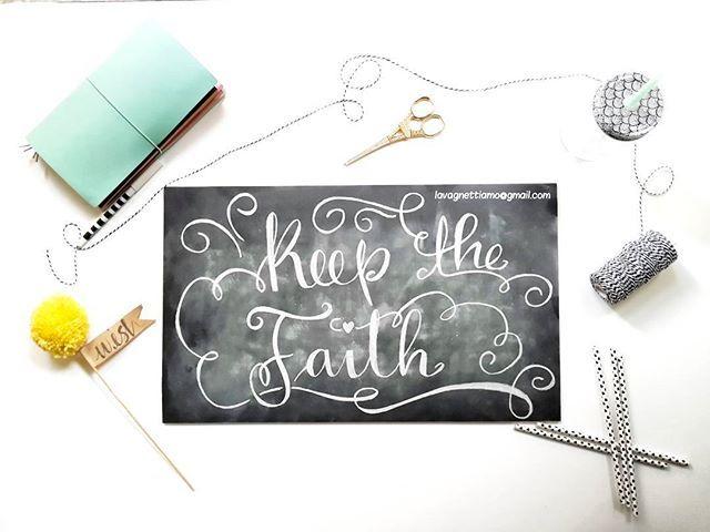 #keepthefaith #faith #midori #wish #lavagnettiamo #lavagnettiamo@gmail.com #solocosebelle #love #chalkboard #chalkboardart #art #lavagnetta #lavagna #lavagnettepersonalizzate #igers #igersitalia #handlettering #handletter #brushlettering #calligraphy #moderncalligraphy #chalk #chalklettering #handwriting