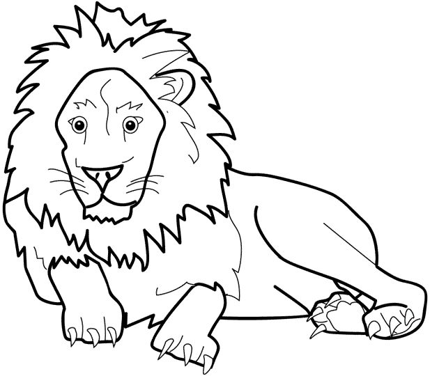 find this pin and more on lions and tigers. lion coloring pages ... - Coloring Pages Tigers Lions