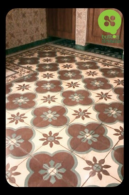 """Handmade tile : buttondreams: Ubin Handmade Impian di Pabrik Tegel """"KUNCI"""""""