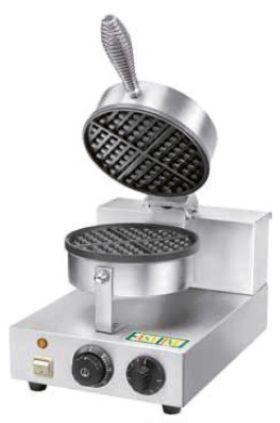 Máquinas de Waffles - Máquina de Waffle Profissional - MW001 // Lendas Sublimes - Produtos Gourmet