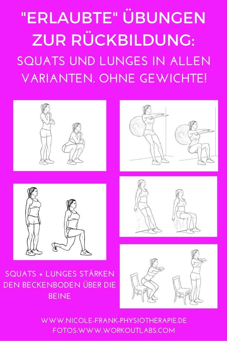 Übungen, die Du bedenkenlos nach der Schwangerschaft machen darfst Mona Apunkt