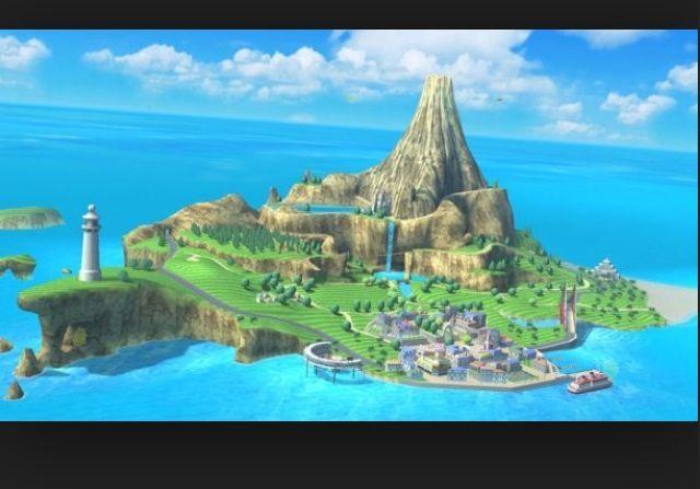 Pilot Wings (Wii Sport Resort)
