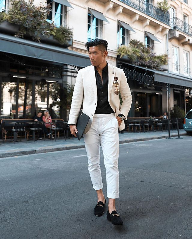 18040fb5b67 Parisian Summer Style Full look - Breaking out my new  tomford loafers -   Paris  TomFord  LevitateFrance