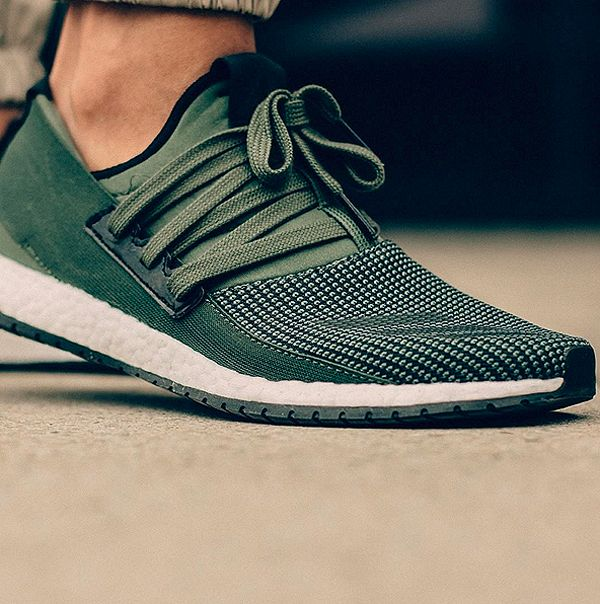Adidas Unveils the Pure Boost RAW. Addidas Shoes MensGreen ...
