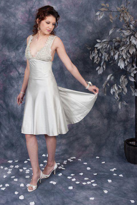 Platinum Cocktail Bride Gown http://www.arcarocouture.com.au