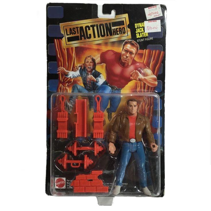 Last Action Hero Dynamite Jack Slater Stunt Figure Mattel New Unopened 074299106699 | eBay