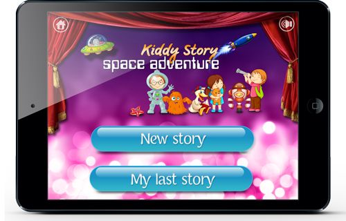 Kiddy Story new app for kids with endless possibilities for creating stories and to have great family fun #KiddyStory